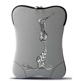 iPad soft case - illustration vertical