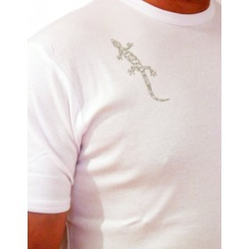 Men's t-shirt with gecko