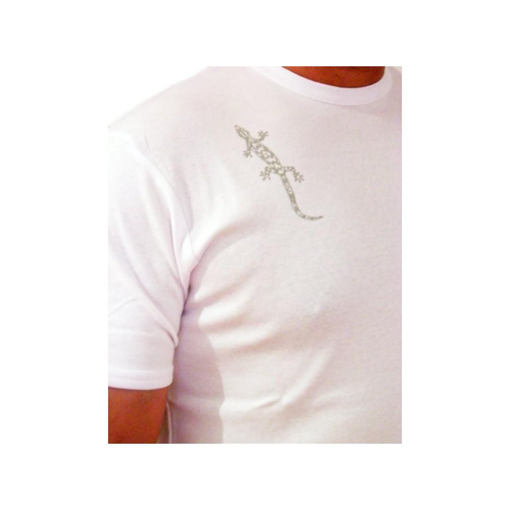 T-Shirts & Sweatshirts Herren T-Shirt mit Gecko