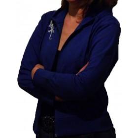 women Comfortable Hooded Jacket with Gecko