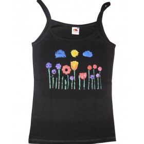 women Impressive top with flowers