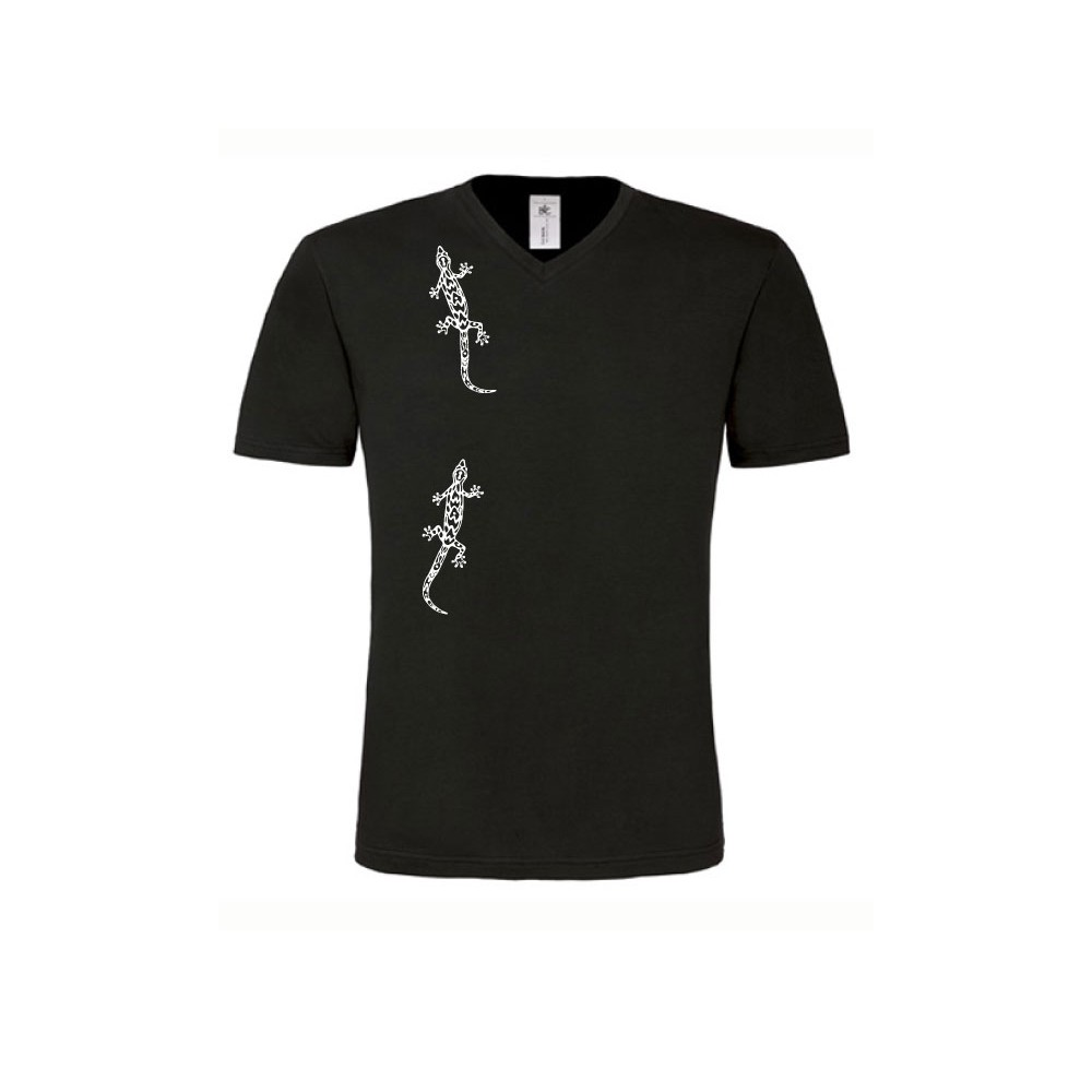 t-shirts & sweatshirts Men's t-shirt with gecko