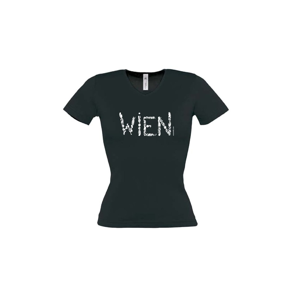 "Themes of Austria Lady's T-Shirt ""Vienna"" ...in 3 colours"