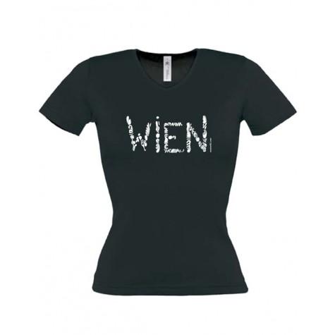"""Damen T-Shirt """"Wien"""" ...in 3 Farben"""