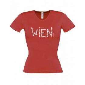 Österreich-Motive Damen T-Shirt WIEN in 3 Farben