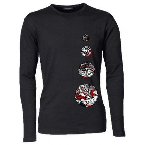 Herren T-Shirt mit 4 Kreisen