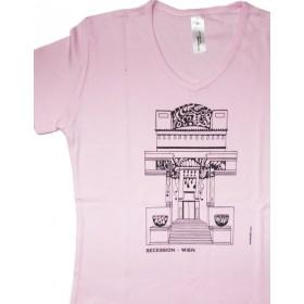 Österreich-Motive Damen T-Shirt Secession ...in mehreren Farben
