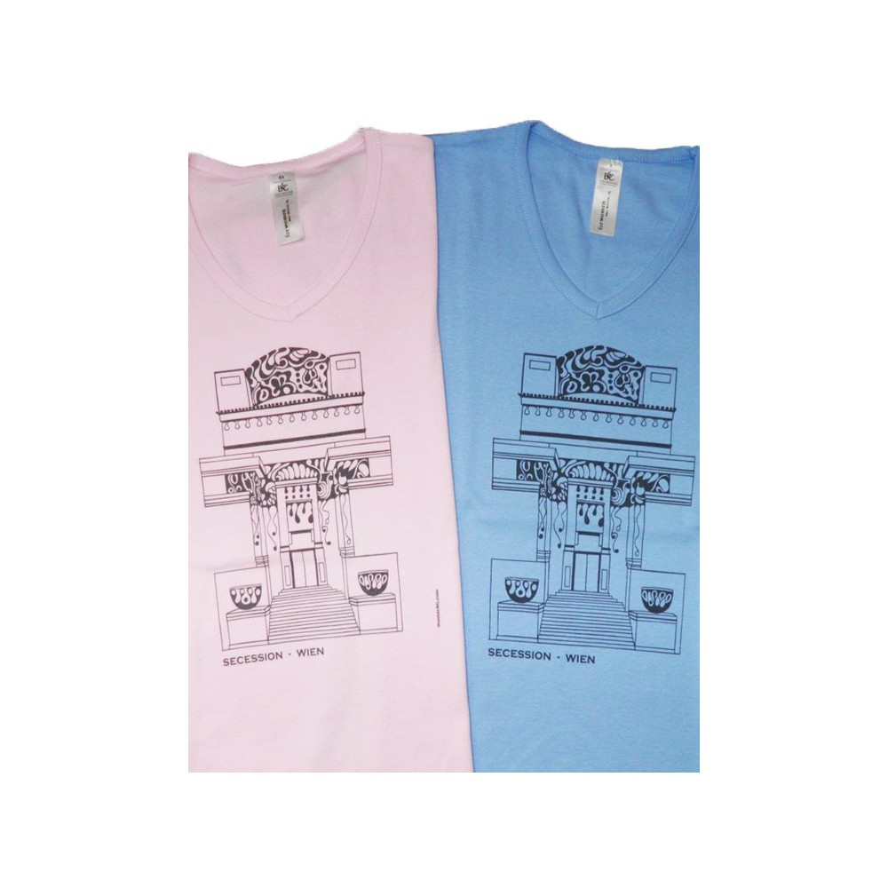 """Themes of Austria Lady's T-Shirt with """"Secession"""" ...in various colours"""
