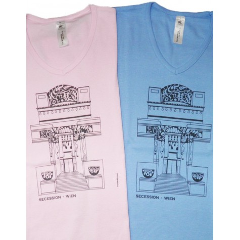 """Lady's T-Shirt with """"Secession"""" ...in various colours"""