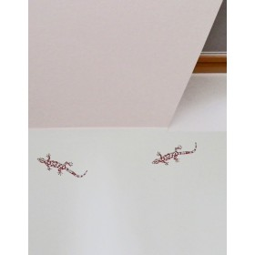 accessory & gifts wall-sticker with gecko - blue