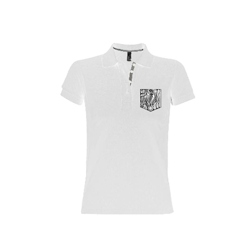 T-Shirts & Sweatshirts Herren Polo-Shirt mit gestickter Brusttasche