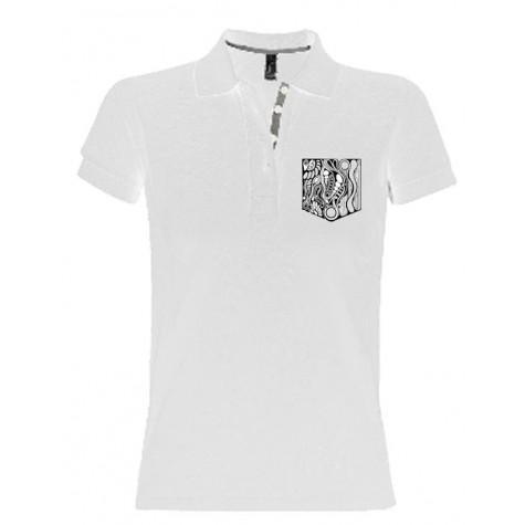 Herren Polo-Shirt mit gestickter Brusttasche