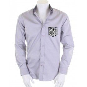 Men's shirt with embroidered pocket