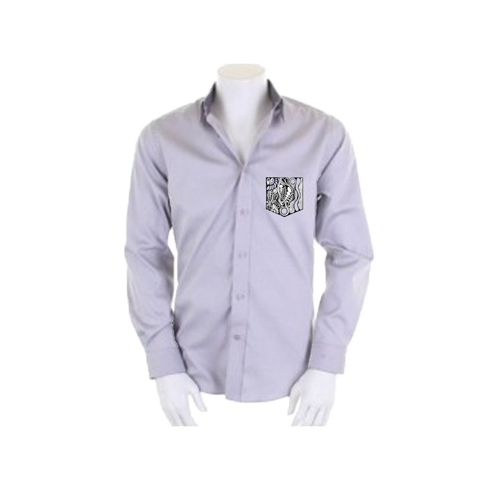 t-shirts & sweatshirts Men's shirt with embroidered pocket