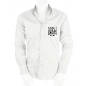 T-Shirts & Sweatshirts Herren Hemd mit gestickter Brusttasche