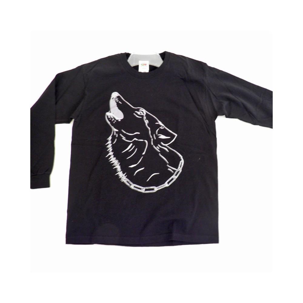 T-Shirts & Sweatshirts Herren Wolf-Shirt