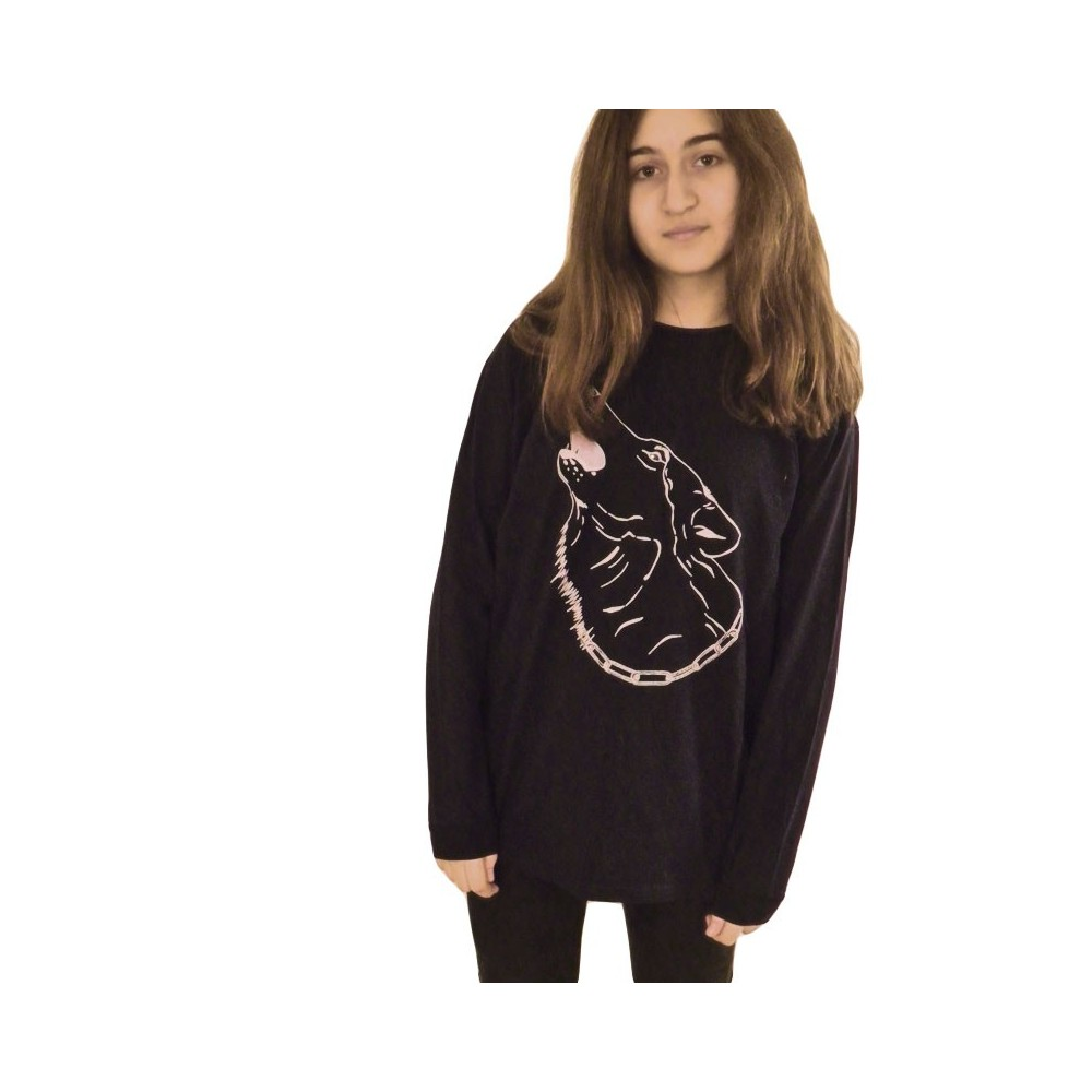 T-Shirts & Sweatshirts Kindershirt mit Wolf