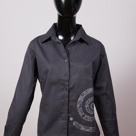 Damen Bluse Spirale