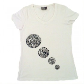 t-shirts & sweatshirts Women's T-Shirt 4 circles, unique in M