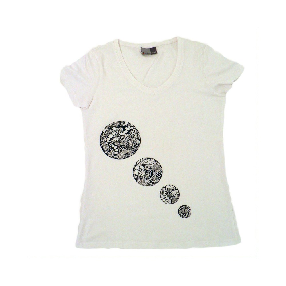 3af7fe7d Women's T-Shirt 4 circles, unique in M t-shirts & sweatshirts