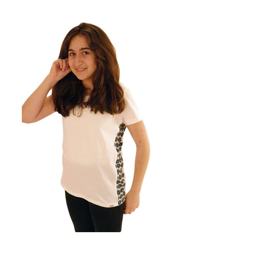 t-shirts & sweatshirts Fashionable ladies tshirt in white