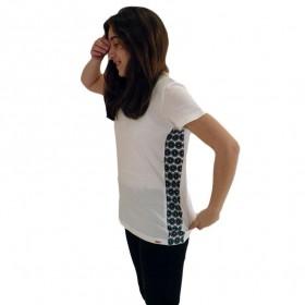 T-Shirts & Sweatshirts Modisches Damen T-Shirt in weiss