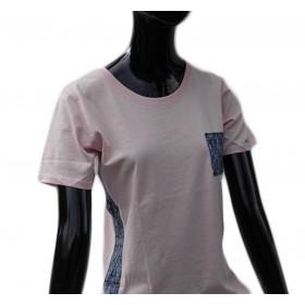 Extravagantes Damen Shirt im rosa Pastellton in M
