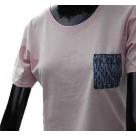 t-shirts & sweatshirts Extravagant ladies shirt in pink pastel tone