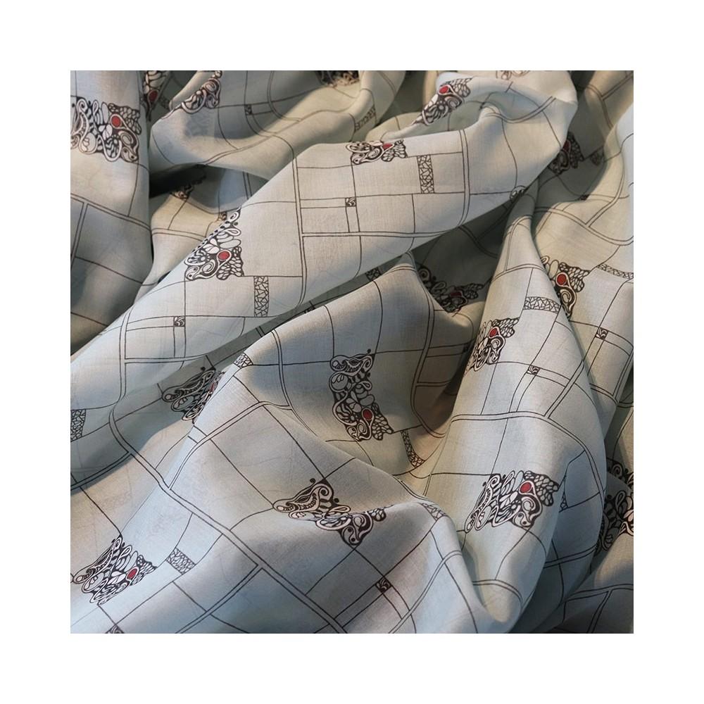 fabric Fabric Popelin POPLEICHT light blue