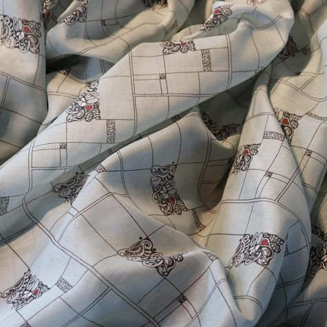 Fabric Popelin POPLEICHT light blue