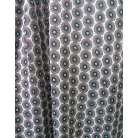 fabric Jersey drapery light - spiralflower small