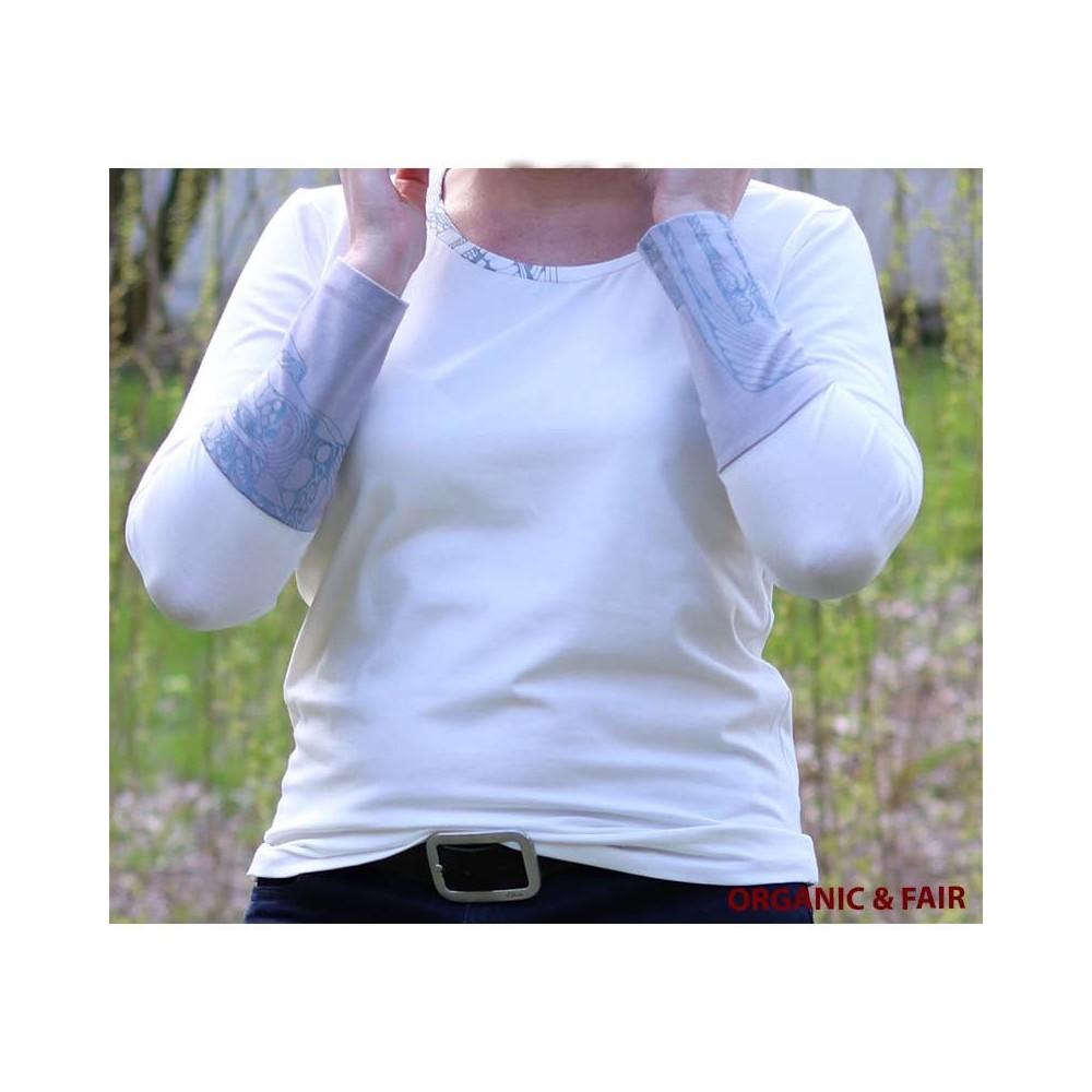 Damen Bio Langarm-Shirt L