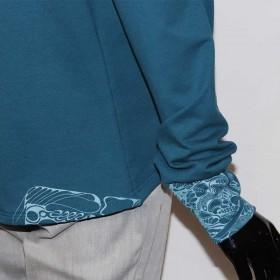 Sweater|Jacke|Detail|XL|Siebdruck|musterwerkstatt