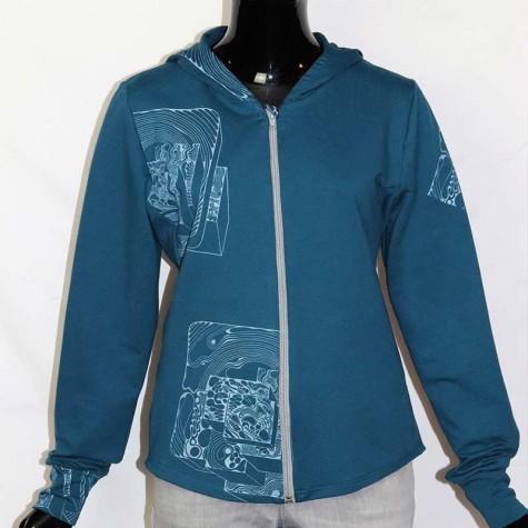 Sweater Jacke UNIKAT XL