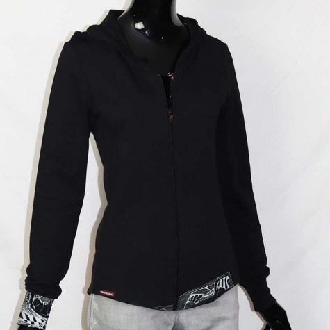 Bio Sweater Jacke DESIGN M