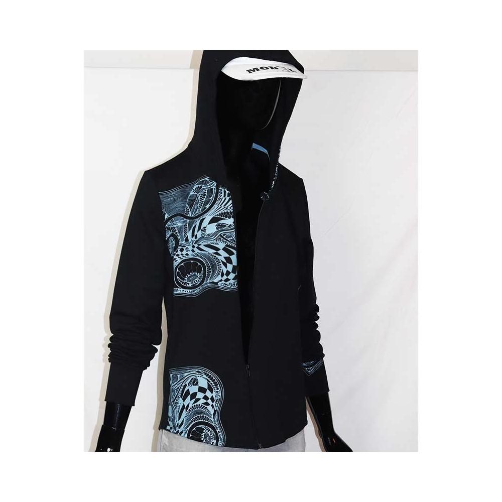 Organic|jacket|DESIGN|black|XXL