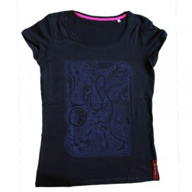 Fair T-Shirt Nahimana No5 blue