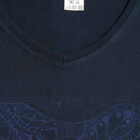 muster-t-shirt-labyrinth-kurzarm