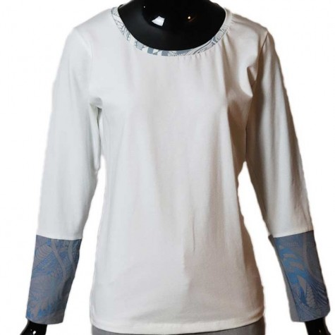 Organic fashionable longsleeve shirt M