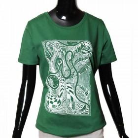 tshirt-geschenk-dunkelgrün-Siebdruck