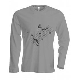 T-Shirts & Sweatshirts Herren Langarmshirt - Melodie