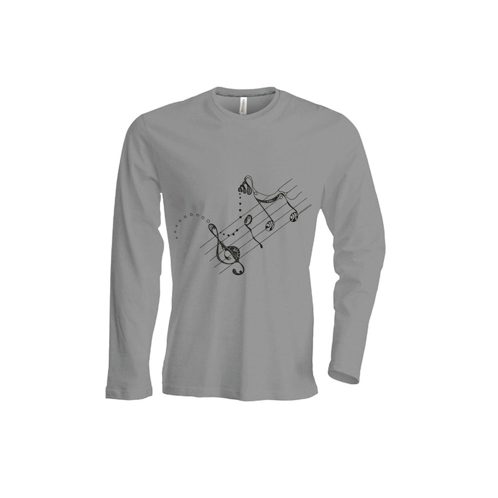 T-Shirts & Sweatshirts NEU!!! Herren Langarmshirt - Melodie