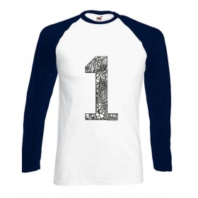 NEW!!! Men Baseballshirt - 1er