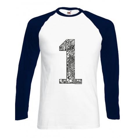 NEW!!! Men Baseballshirt - 1er