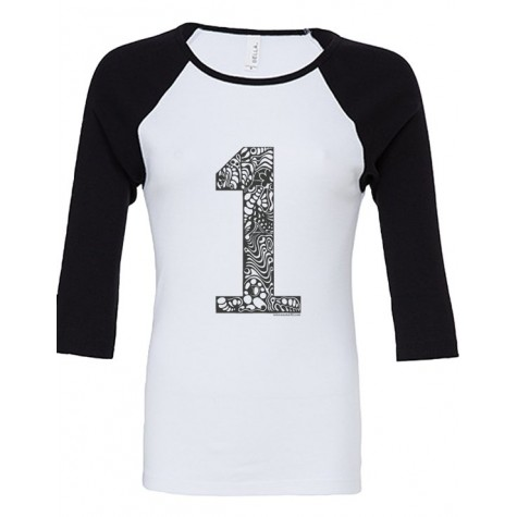 NEW!!! Lady 3/4-sleeve Raglan - 1er