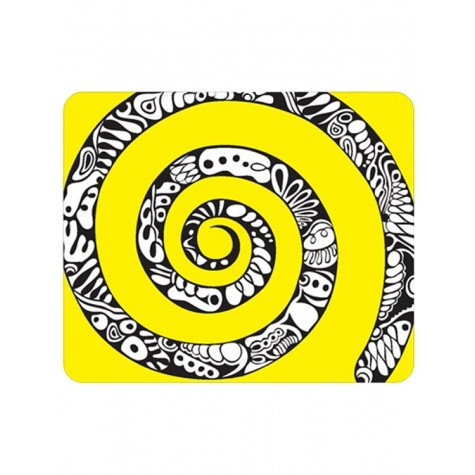 mousepad with spiral