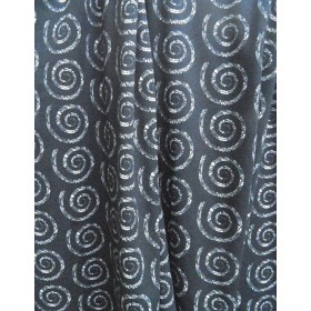 fabric Jersey drapery light - spiral
