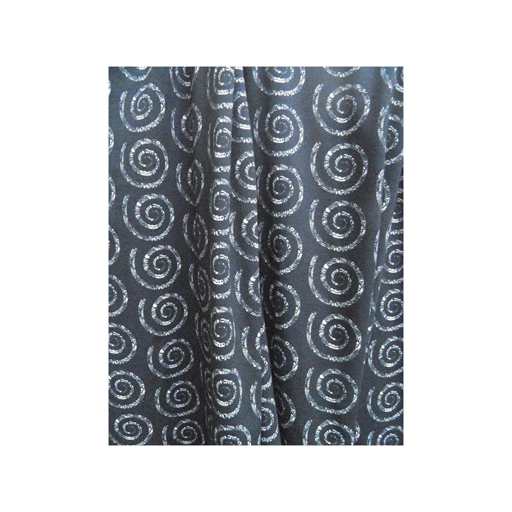 fabric Jersey drapery light - spiral