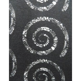 Stoffe Jersey Stoff - Spirale