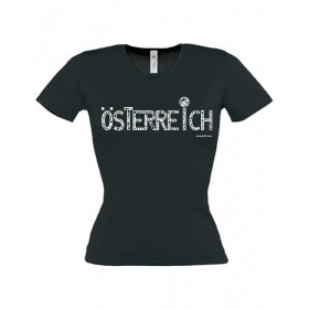 "Lady's T-Shirt ""Austria"" ...in 3 colours"
